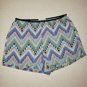 LUSH Tribal Summer Colorful Shorts